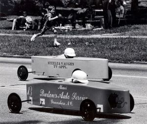 Billy cart derby Burleigh Heads