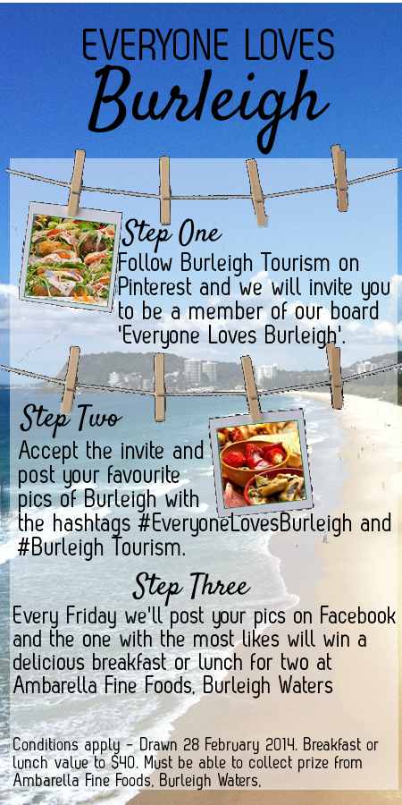 Everyone loves Burleigh Heads and Amabarella Fine Foods